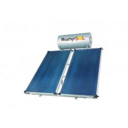 Ηλιακός Θερμοσίφωνας 160lt Mastersol ECO Επιλεκτικός 3,0τμ