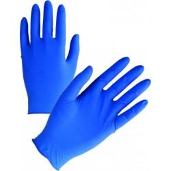 Γάντια LATEX Μίας Χρήσεως Μπλέ