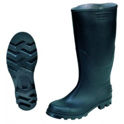 Μπότες Μαύρες Από PVC 40cm