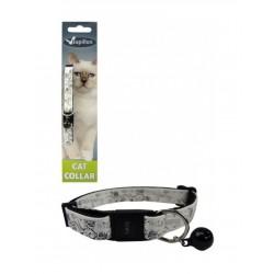 Ρυθμιζόμενο Κολάρο  Για Γάτες  Σε Χρώμα Λευκό